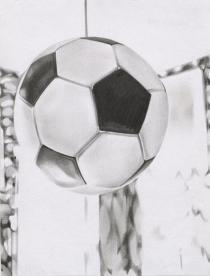 Marc Brandenburg, Untitled (Fußball), 1994. Deutsche Bank Collection. © Marc Brandenburg