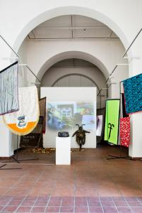 ff Collaborations. Installation view, Erogenous Zone, Galerie im Körnerpark, Berlin, 2013. Photo: Christina Dimitriadis
