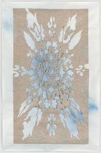 Shannon Bool, Wax Tablecloth, 2004. Deutsche Bank Collection. � Shannon Bool