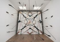 Martin Soto Climent,  Frenetic Gossamer at Michael Benevento, 2011. Copyrigh MSC