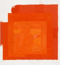 Josef Albers, Study for Homage to the Square, undated. © The Josef and Anni Albers Foundation / VG Bild-Kunst, Bonn 2018