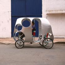 Pedro Reyes, Velotaxi, 2007
