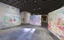 Jutta Koether, Installation view of 2012 Whitney Biennial. Photo: Sheldan C. Collins