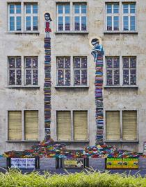 Tinho, Fa�ade of the old Police HQ, Friedrich-Ebert-Anlage 5-11 � Schirn Kunsthalle Frankfurt 2013. Photo: Norbert Miguletz