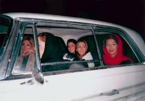 Shirin Aliabadi, Girls in Car 2, 2005. © Courtesy of the artist and The Third Line