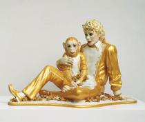 Jeff Koons, Michael Jackson and Bubbles, 1988. From Banality. © Jeff Koons