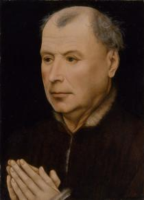 Workshop of Robert Campin, Man in Prayer, ca. 1430–35, The Metropolitan Museum of Art, New York, Photo: The Metropolitan Museum of Art