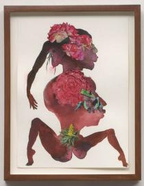 Wangechi Mutu, Beet Root (detail), 2008. Collection of Janine Barrois, Santa Monica, CA. Photo: Robert Wedemeyer. Courtesy of Susanne Vielmetter Los Angeles Projects