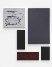 Ivan Grubanov, Study for a Memorial #2, Polyptych, �l auf Leinwand, 237,5x212,5cm, 2009, Courtesy of Loock Galerie, Berlin