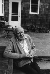 Philip Guston on the Porch at Woodstock (1980). © Renee Conforte McKee