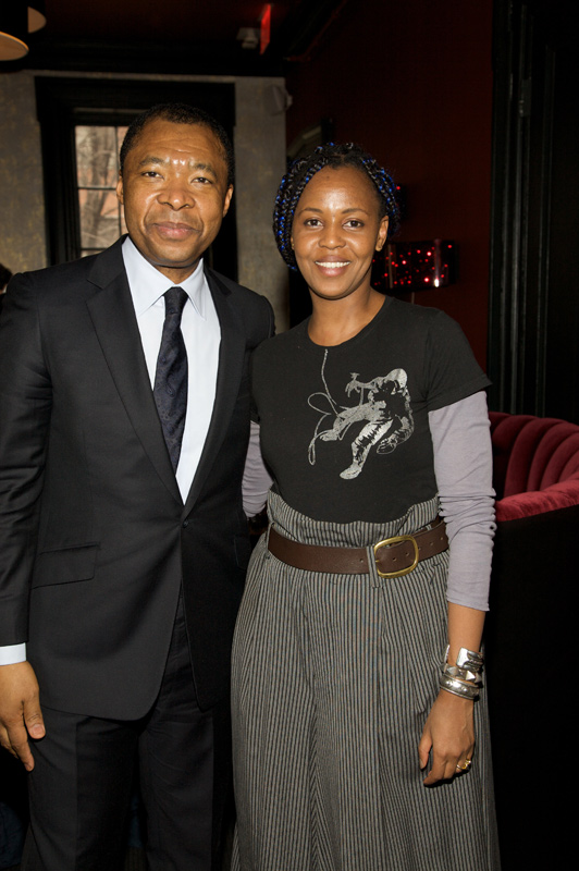 Okwui Enwezor and Wangechi Mutu, Deutsche Bank's Artist of the Year 2010