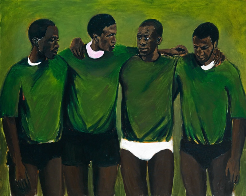 Lynette Yiadom-Boakye, Complication, 2013. © Courtesy of Lynette Yiadom-Boakye